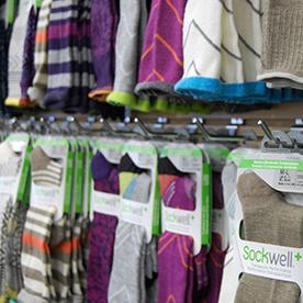 Colorful compressio socks